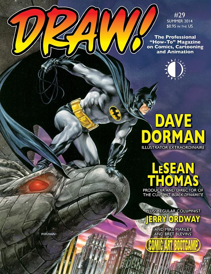 DRAW! Comic Books – ekraanipilt