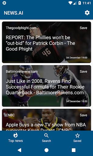 NEWS.AI screenshot 1