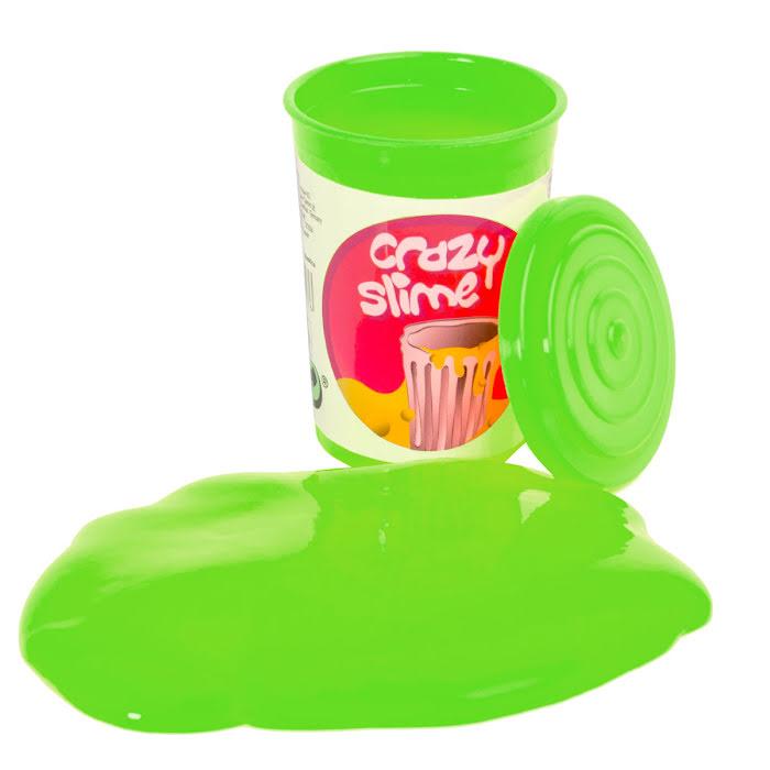 Crazy Slime, Grönt ligger utanför burken och myser