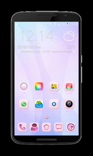 Pink Pastel GO Theme