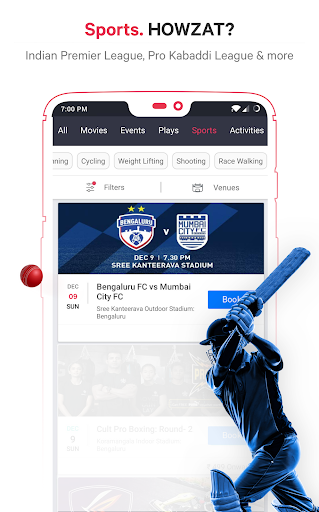 BookMyShow - Movies, Events & Sports Match Tickets  screenshots 6