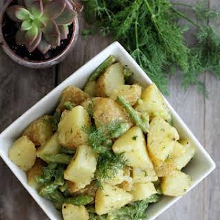 Dijon and Dill Potato Salad.