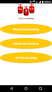 LPG Gas Booking - náhled