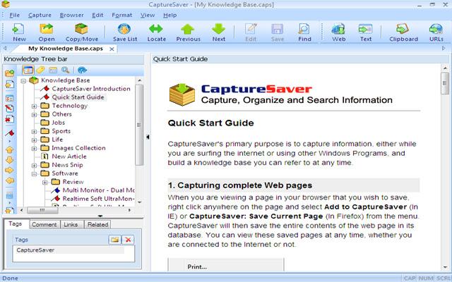 Save to CaptureSaver