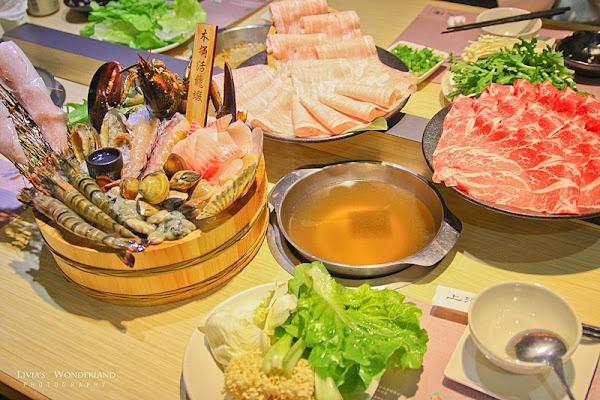 上澄鍋物|頂級木桶活龍蝦搭7種海鮮生猛上桌/活跳跳白蝦桶/31種野菜吃到飽!
