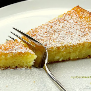 Lemon Coconut Yogurt Cake soft and moist
