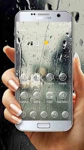 Raindrops Glass Theme 1.1.1