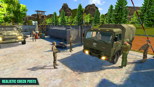 Armée Conducteur de camion APK MOD screenshots 1
