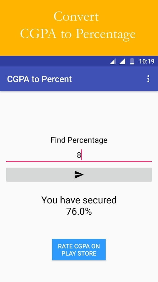 CBSE CGPA - Calculator, Result- screenshot