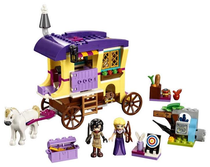 Contenido de Lego® 41157 Caravana de Vacaciones de Rapunzel