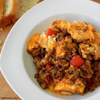Turkey Chili and Sweet Potato Shepherd's Pie