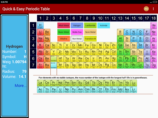 Periodic table of chemical elements chemistry app apk 11 download periodic table of chemical elements chemistry app urtaz Image collections