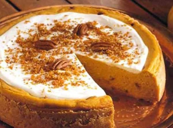 Pumpkin Praline Cheesecake Recipe