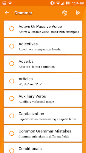 English Grammar Ultimate 5.0 screenshots 4