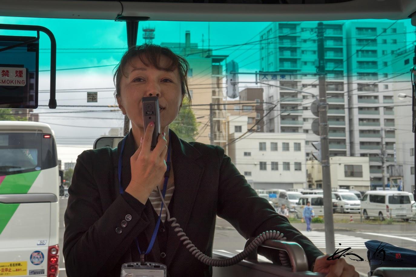 添乗員の山田巳幸さん