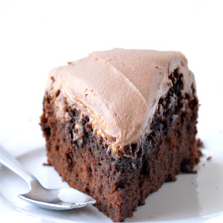 Chocolate Mud Cake with Milk Chocolate Frosting Recipe
