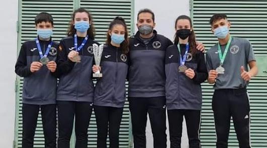 El Club Taekwondo 301 Team se cuelga cinco medallas