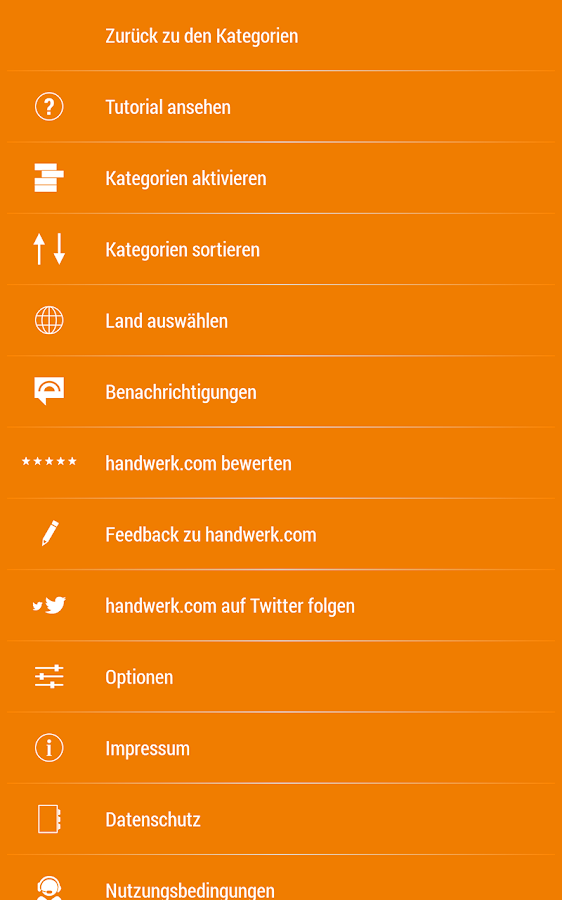 Handwerk- screenshot