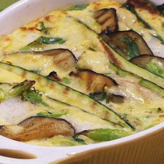 Vegetable and Cod Bake.