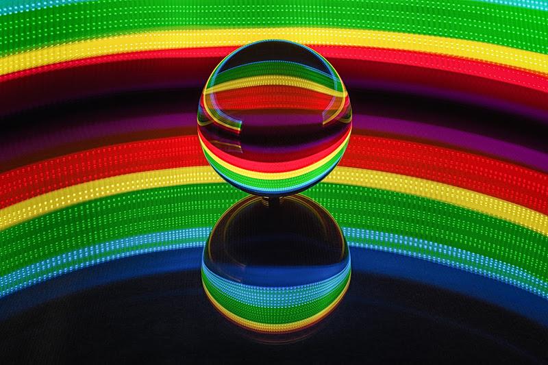 Arcobaleno di luce  di Barbara Surimi