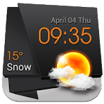 3D Clock Current Weather Free 16.1.0.47310