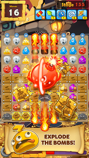 MonsterBusters: Match 3 Puzzle  screenshots 1