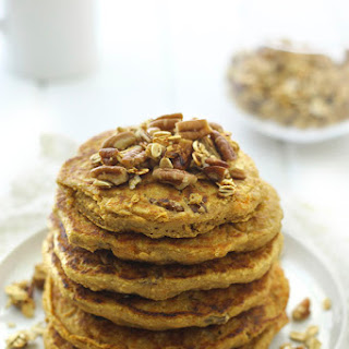 Sweet Potato and Pecan Pancakes