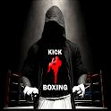 Kick boxing icon