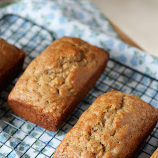 Whole Wheat Greek Yogurt Banana Bread