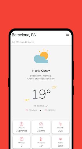 Clean Weather 2.5.17 screenshots 2
