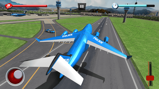 US Police Robot Car Game u2013 Police Plane Transport 1.02 screenshots 5