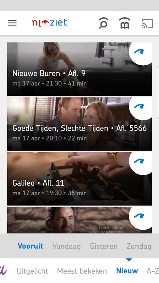 NLziet: screenshot