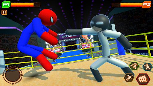 Stickman Wrestling: Stickman Fighting Game android2mod screenshots 2