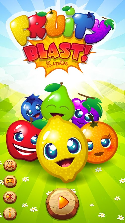 Fruity Blast : Funny Fruits- screenshot