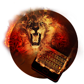 Fire Lion Keyboard Theme - Emoji & Gif Android APK Download Free By Powerful Phone