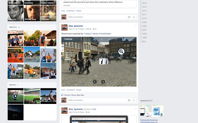 HoloPlayer for Facebook