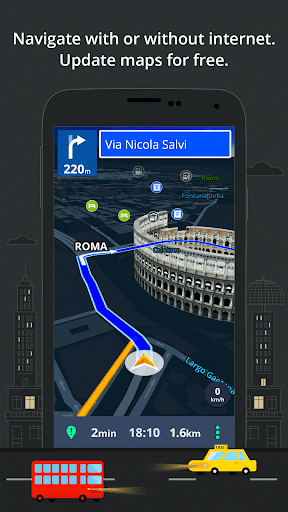 GPS Navigation & Maps Sygic v16.4.8 [Unlocked]