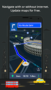 GPS Navigation & Maps Sygic Screenshot
