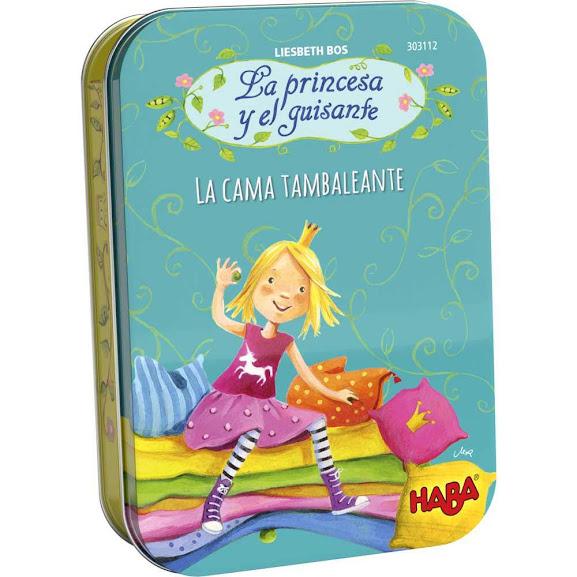 HABA® La Princesa y el Guisante: la Cama Tambaleante