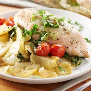 Easy Italian Chicken and Potato Bake.