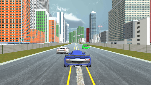 Curved Highway Car Racer Game 1.0.6 screenshots 1