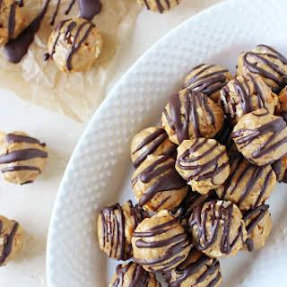 Peanut Butter Pretzel Honey Balls (No Bake).