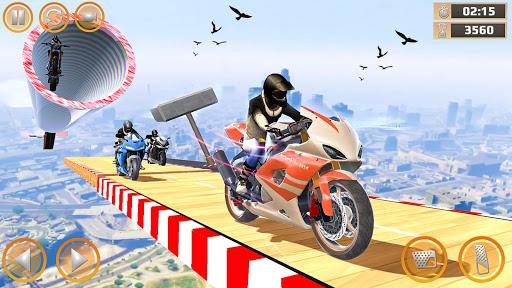 Mega Ramp Impossible Tracks Stunt Bike Rider Games 2.9 screenshots 2