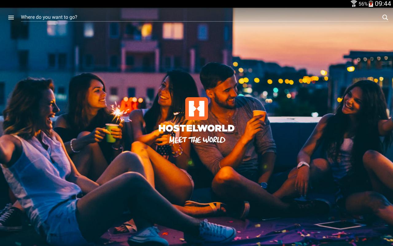 Hostelworld – book Hostels- screenshot