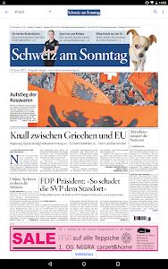 Schweiz am Sonntag - E-Paper screenshot 5
