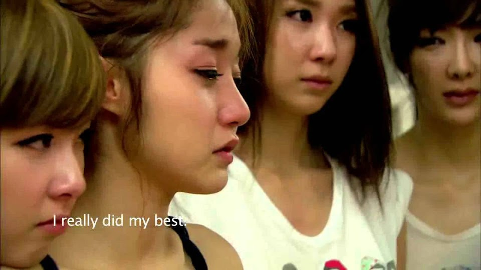 kpop trainees crying