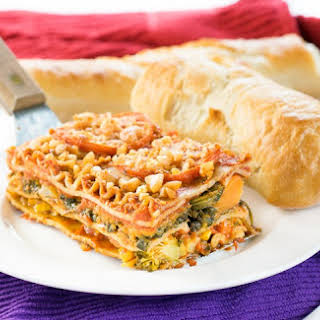 Engine 2 Healthy Vegetable Lasagna.