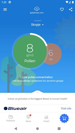 Air Quality - AirCare screenshots 2