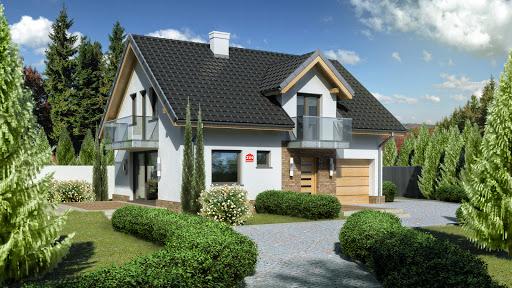 projekt Dom przy Alabastrowej 21 N