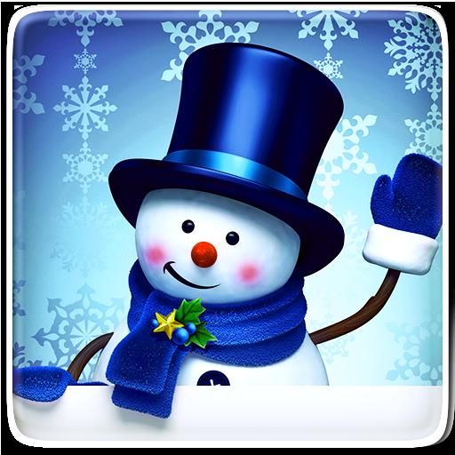 Snowman Live Wallpaper Icon